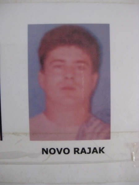 Novo Rajak, sentenced for war crimes committed against Bosniaks in Visegrad.