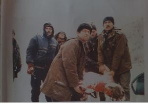 During the winter, dozens of Bosniaks who dared to travel to Grebak to buy food froze to death.